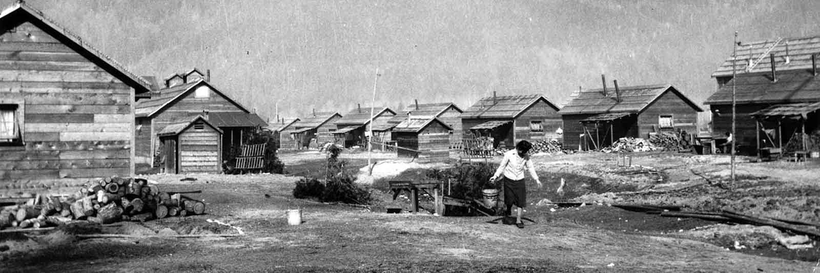 life in the internment camp
